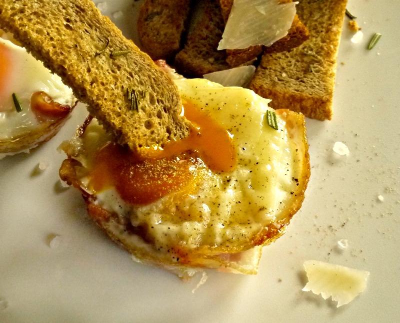 αυγά με μπέικον