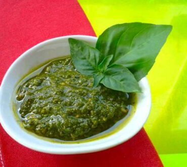 perfect fresh basil pesto