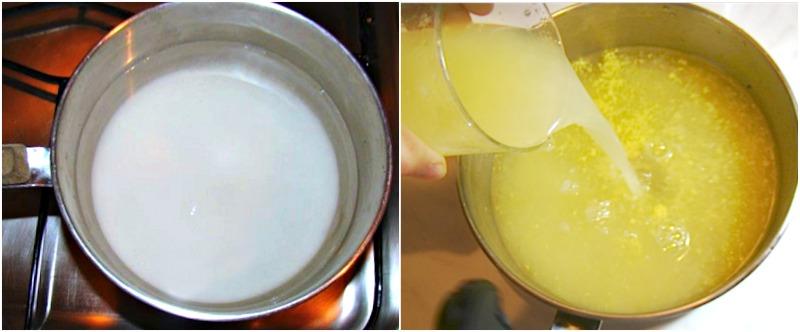 γρανίτα λεμόνι με αλκοόλ ή χωρίς
