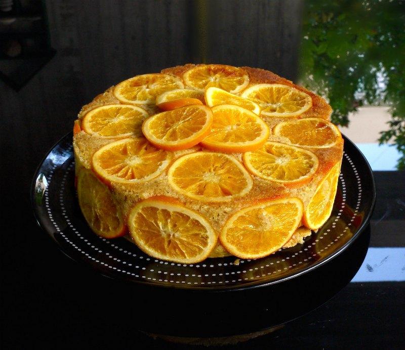 πορτοκαλόπιτα αρωματική χωρίς φύλλο