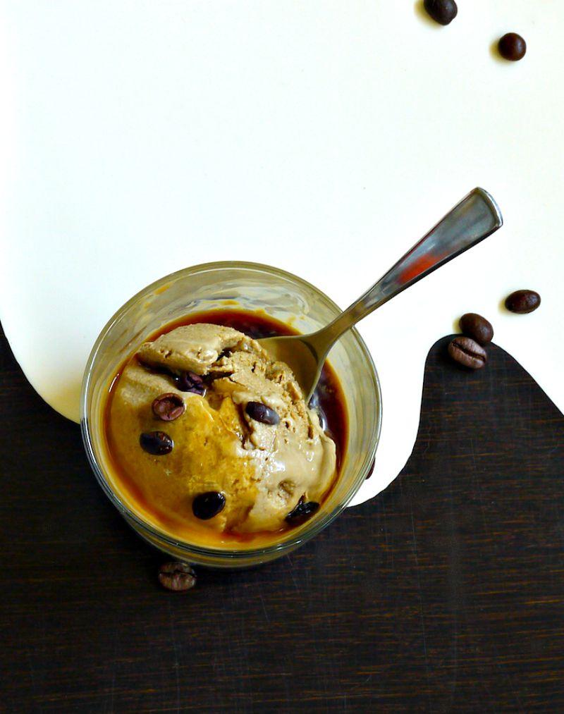 παγωτό μόκα, με αυγά ή χωρίς