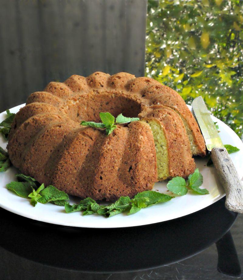 κέικ δυόσμου ή κέικ μέντας; ή κέικ mint julep;