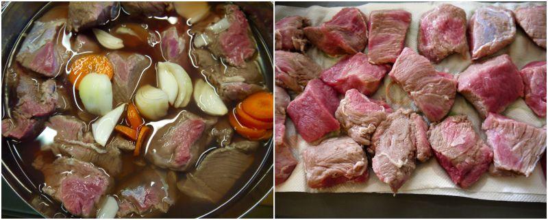 μπεφ μπουργκινιόν για ζεστές εποχές, με άσπρο κρασί και απλούστερο μαγείρεμα