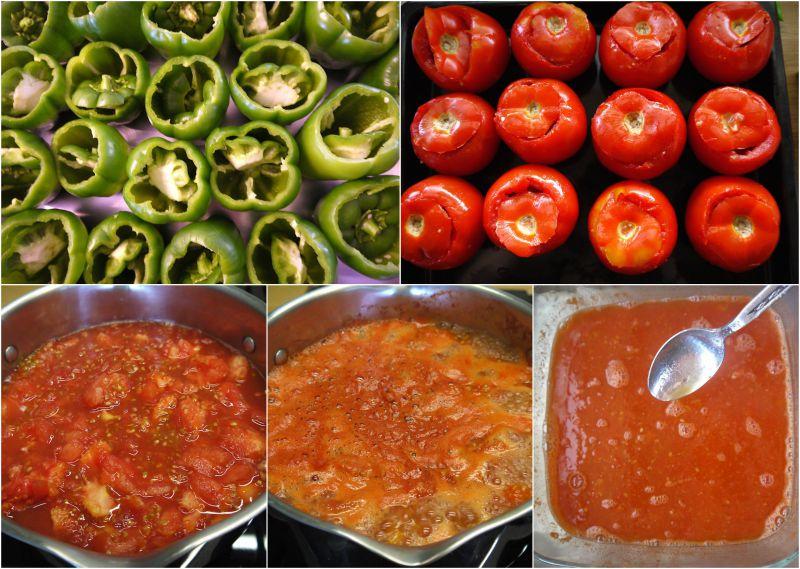 αυθεντικά γεμιστά πολίτικα - πως κάνουμε τη σάλτσα