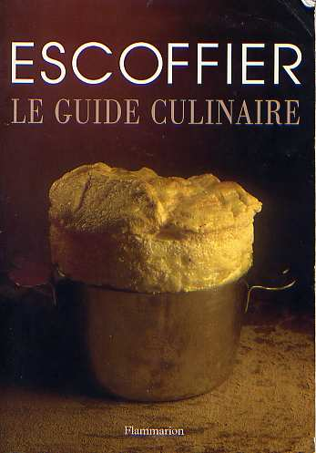 escoffier essay Must complete a 300 word essay on why you want to be in the hospitality school and why escoffier meal and will be awarded the scholarship that evening.