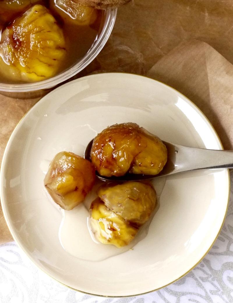 κάστανο γλυκό του κουταλιού