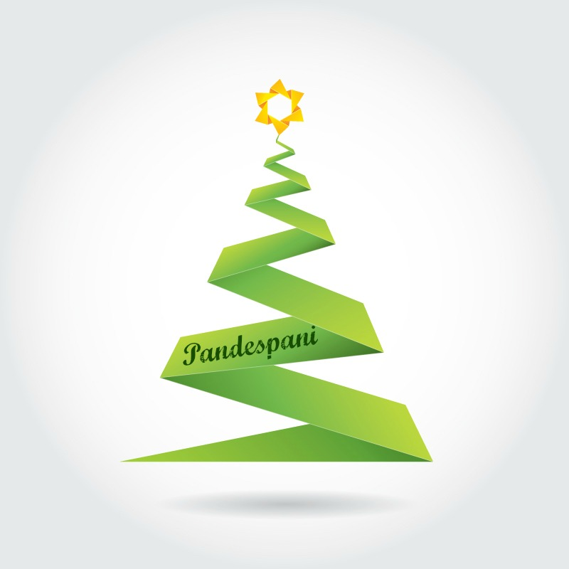 merry christmas - wishes from pandespani