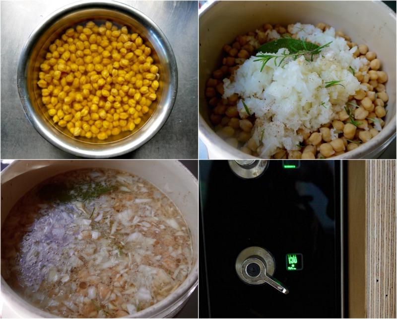 αυθεντική ρεβιθάδα Σίφνου βήμα-βήμα - κυκλαδίτικη σιφνέικη ρεβυθάδα στο πήλινο, στο φούρνο