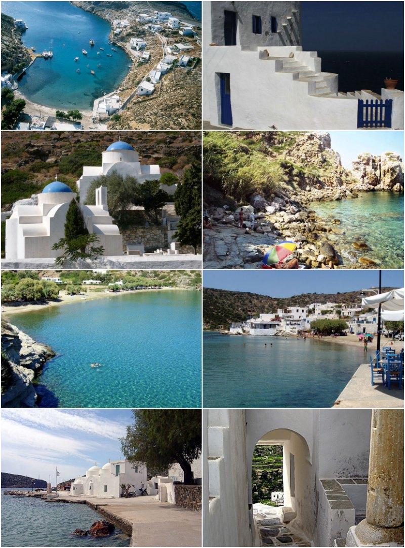 Σίφνος - φωτογραφίες του νησιού