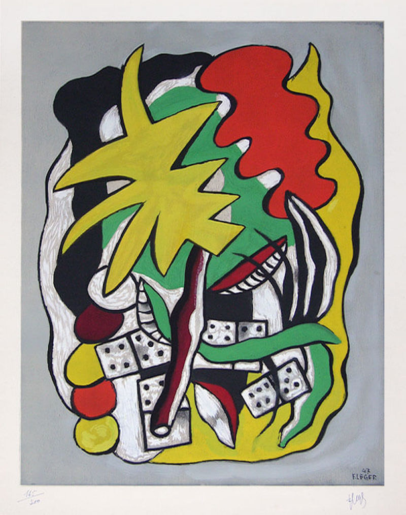 Fernand Léger, Composition aux dominos, 1947