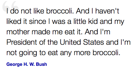 broccoli-george-bush