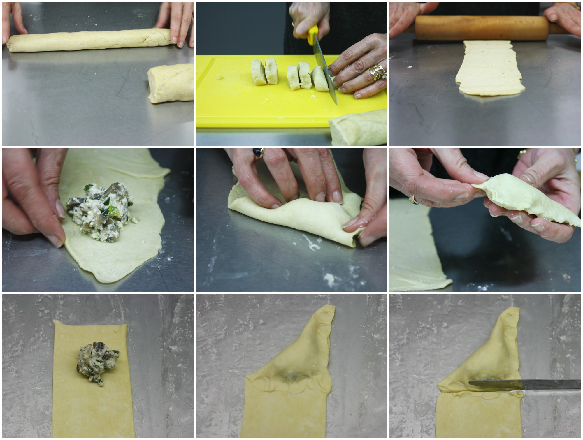 πώς να γεμίσετε μανιταροπιτάκια με σκόρδο και δεντρολίβανο