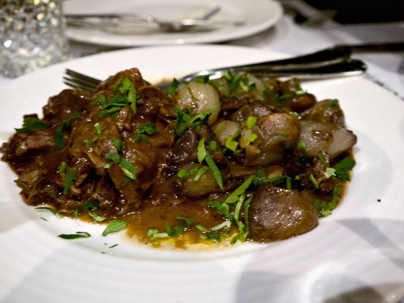 pop up Cucina Caruso - μπεφ μπουργκινιόν