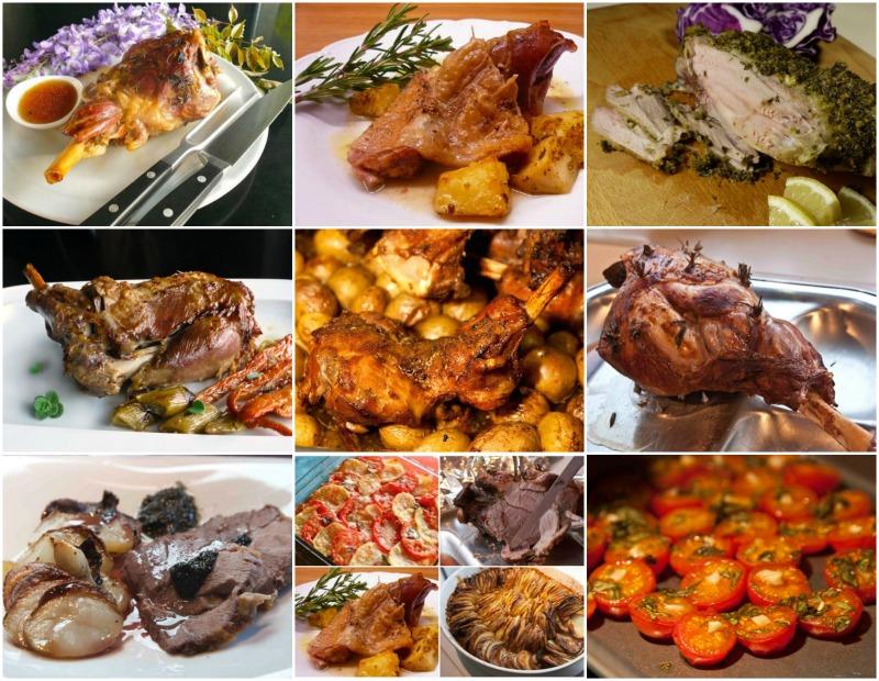 πασχαλινό μενού - αρνί και κατσίκι συνταγές Πάσχα
