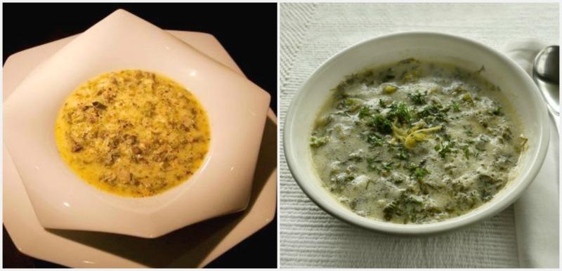 πασχαλινό μενού - μαγειρίτσα κλασική, μαγειρίτσα βετζετέριαν