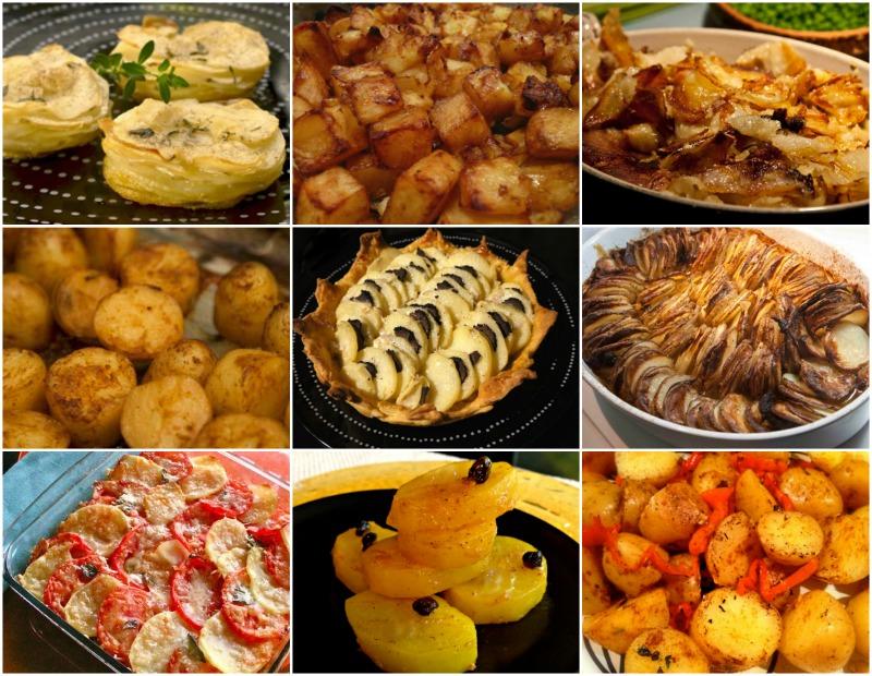 πασχαλινό μενού - συνταγές Πάσχα: συνοδευτικά - πατάτες