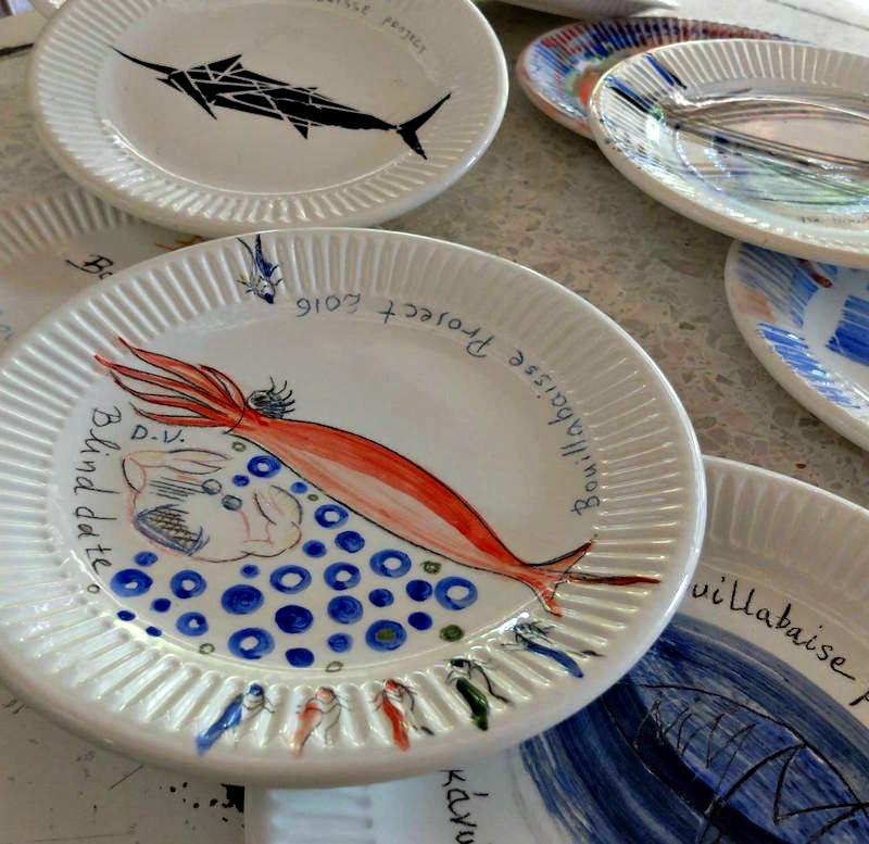 Bouillabaisse Project 2016 - ψάρια στα πιάτα