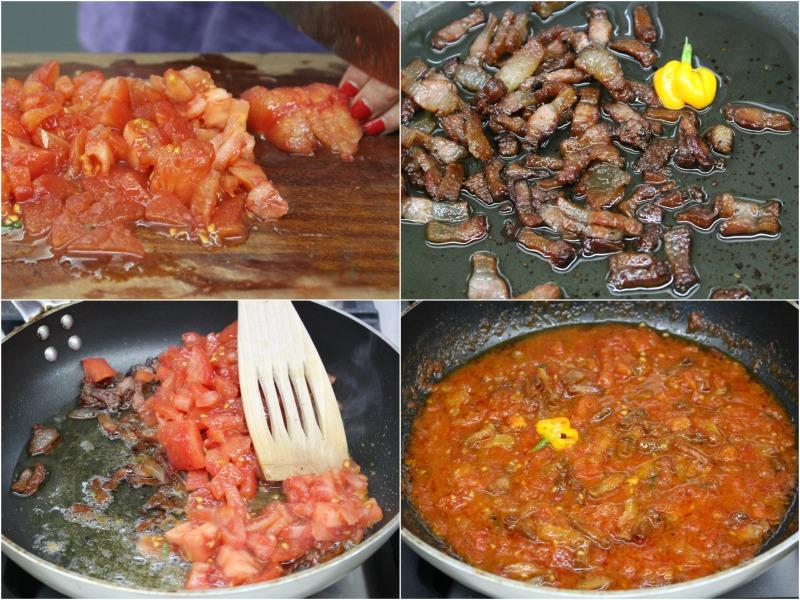 σπαγκέτι αλ αματριτσιάνα - αυθεντική συνταγή