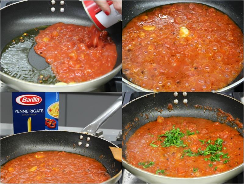 πένες αραμπιάτα σάλτσα