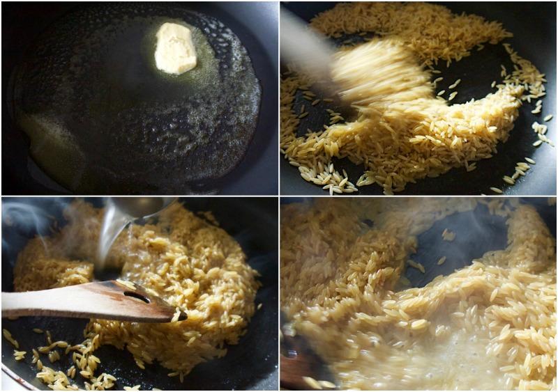 γκουρμέ κριθαράκι με αχινούς