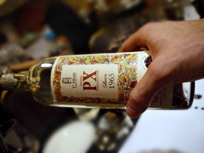 Ισπανικά κρασιά -δοκιμή και γευσιγνωσία 2016: Don PX Seleccion 1965