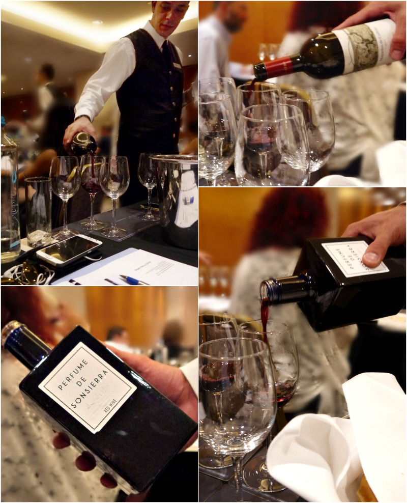 κόκκινα ισπανικά κρασιά -δοκιμή και γευσιγνωσία 2016- Perfume de Sonsierra