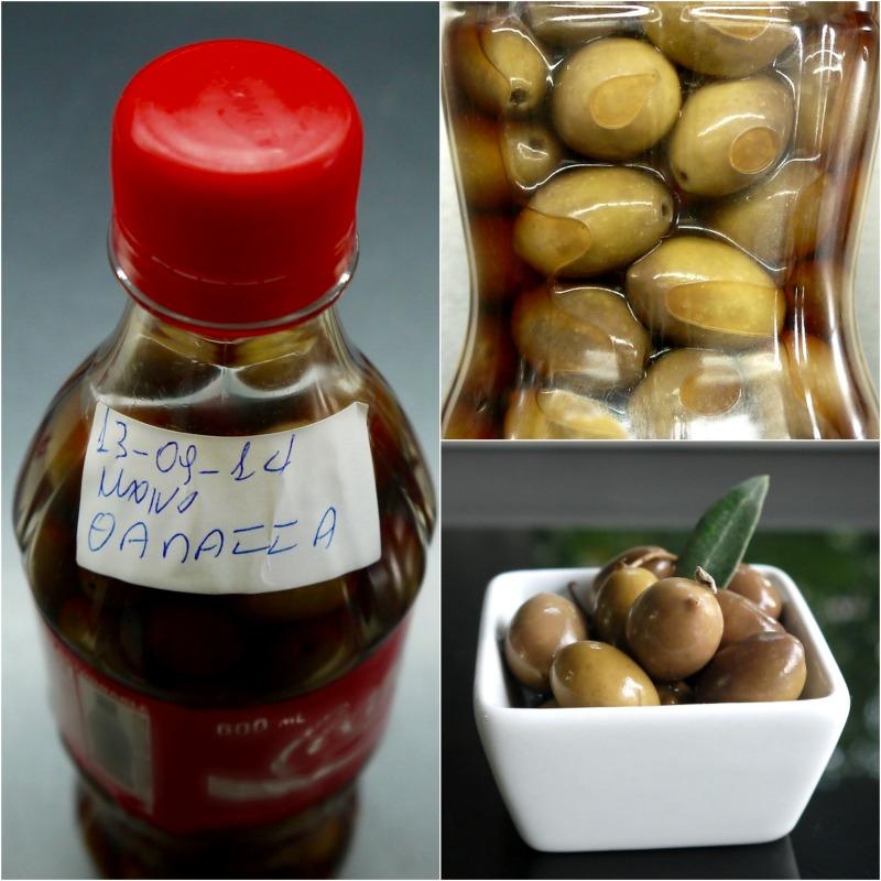 olives in a bottle - πως φτιαχνω ελιές σε μπουκάλι