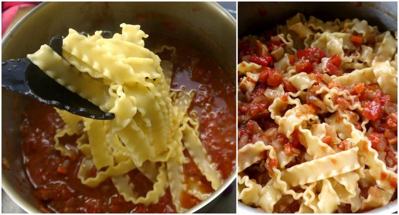 κοκκινιστό κοτόπουλο με μακαρόνια, κλασικό & στο φούρνο - τα ζυμαρικά
