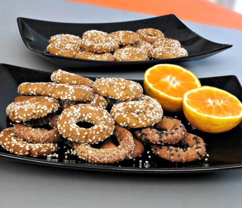 Εύκολα, τραγανά κουλουράκια με ελαιόλαδο και πορτοκάλι - νηστίσιμα κουλουράκια πορτοκαλιού