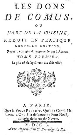 Les Dons de Comus, Francois Marin