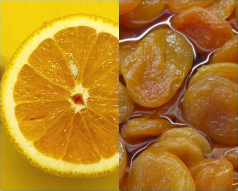 χοιρινό με βερίκοκα και πορτοκάλι