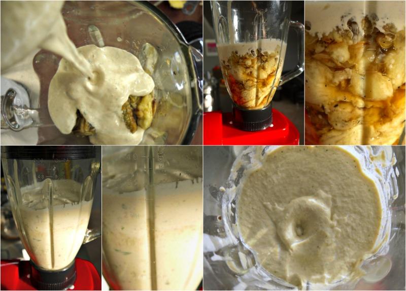 κάνοντας μπαμπαγκανούς μελιτζανοσαλάτα step by step