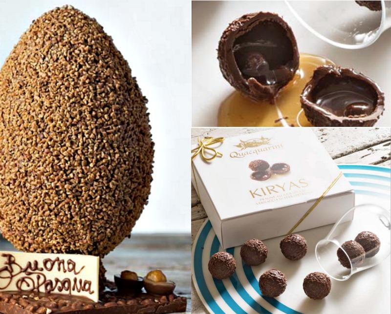 σοκολατένια αυγά - kiryas quacquarini
