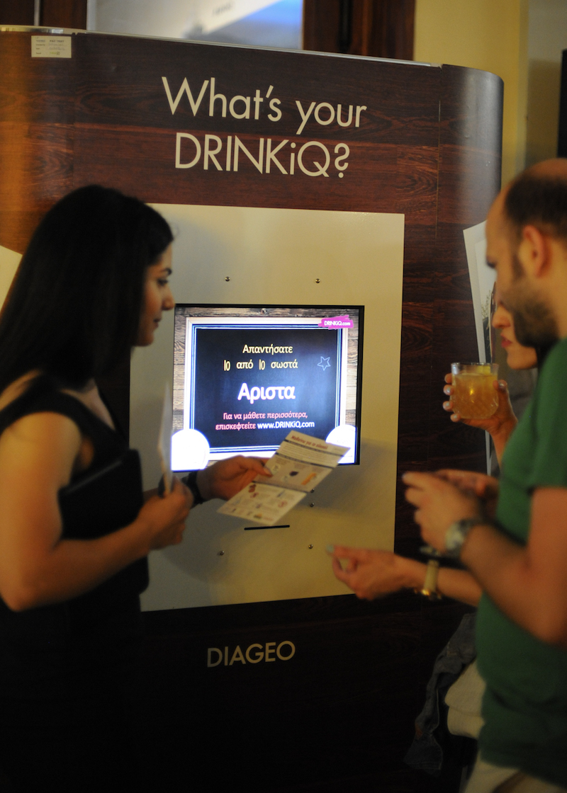 Athens Fine Drinking by World Class, drink responsibly