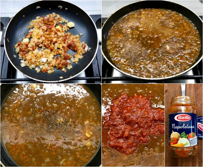 γιουβέτσι μοσχάρι με κριθαράκι - προετοιμασία