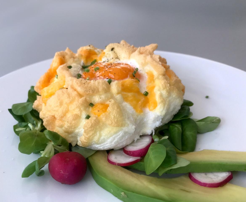 αυγά σύννεφα γιγάντικα, πουπουλένια