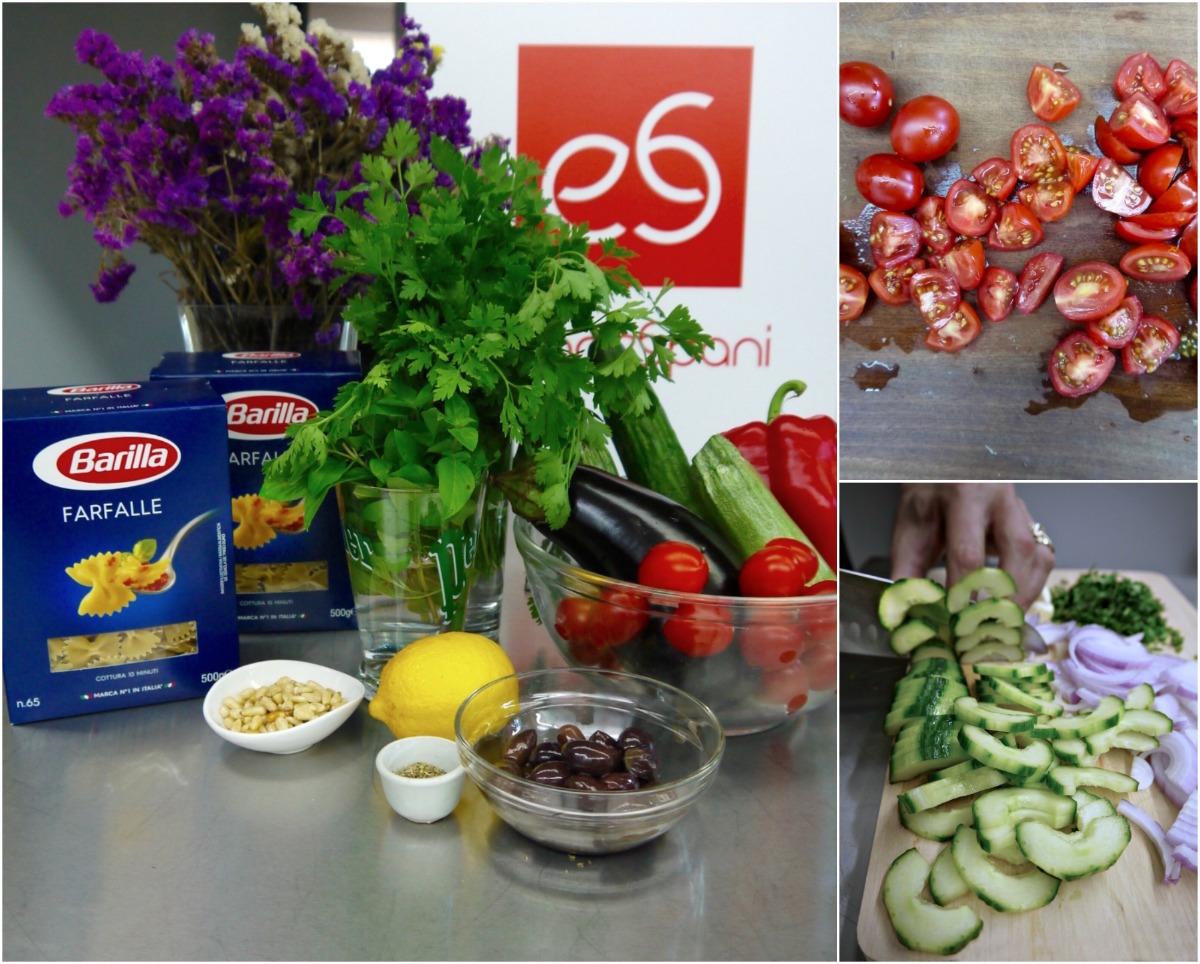 Farfalle Barilla & λαχανικά