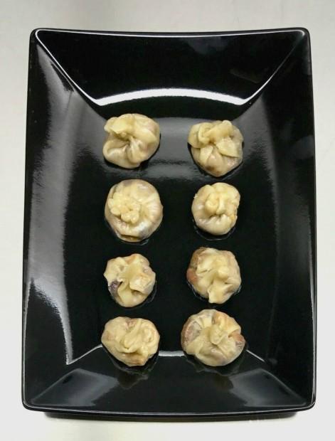 Dumplings στον ατμό με μανιτάρια