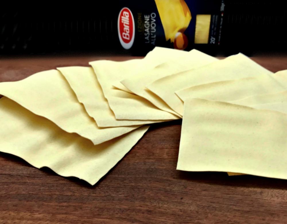 Λαζάνια με θαλασσινά -lasagne Barilla