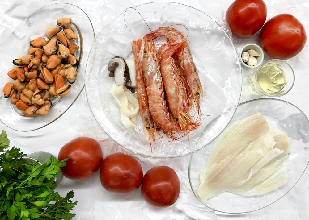 Λαζάνια με θαλασσινά & μπεσαμέλ θαλασσινών