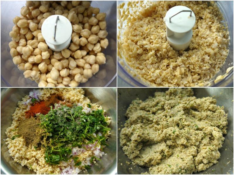 κάνοντας φαλάφελ - falafel