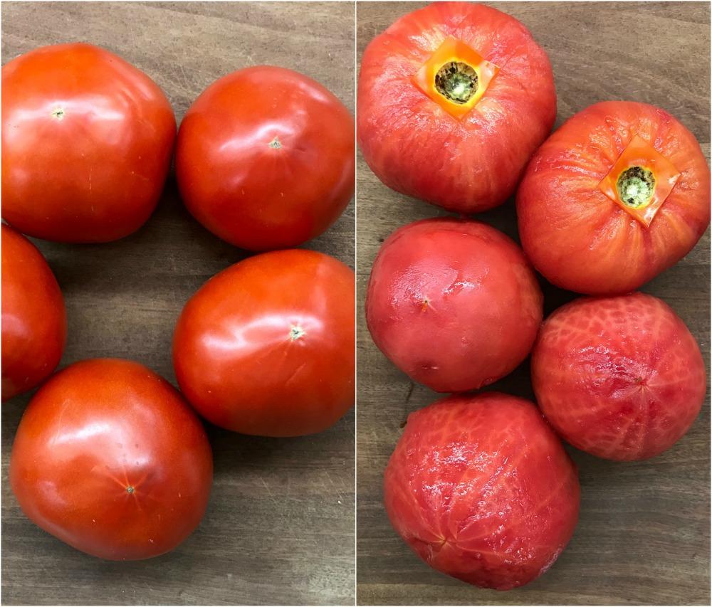 πως αποφλοιώνουμε ντομάτες, κρεμμύδια και σκόρδα