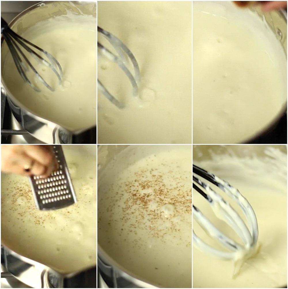 μπεσαμέλ σάλτσα