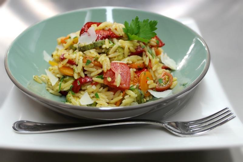Pandespani Pasta Top 10 - κριθαράκι με λαχανικά