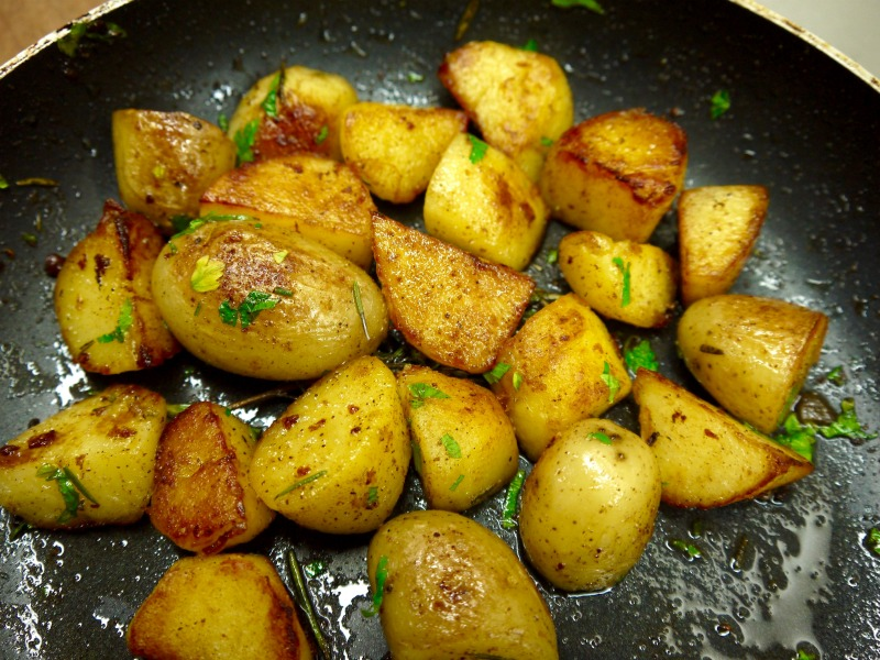 γαλλικές πατάτες βουτύρου
