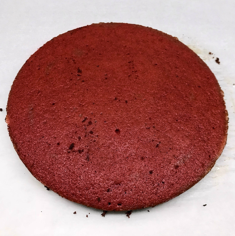 red velvet κέικ