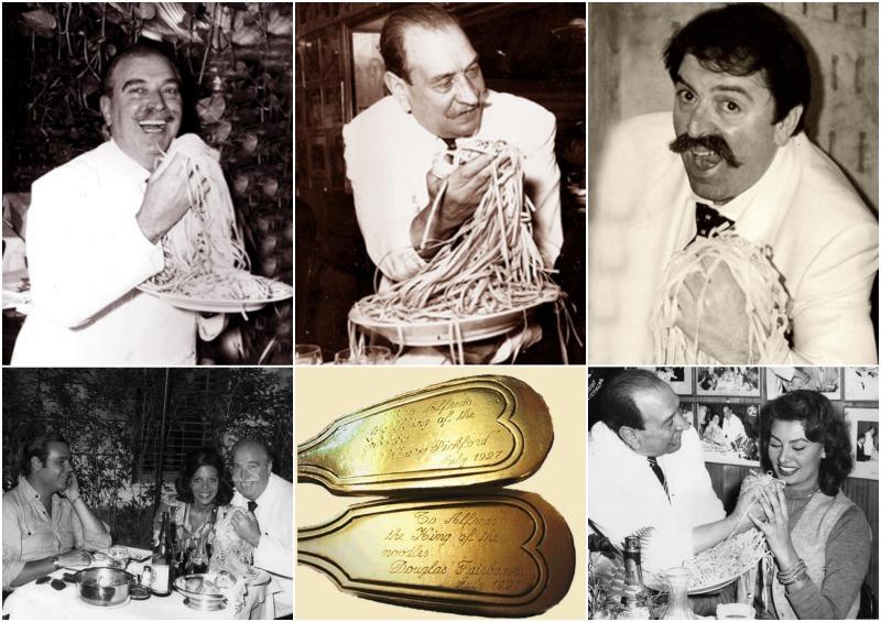 fettuccine Alfredo - ιστορία