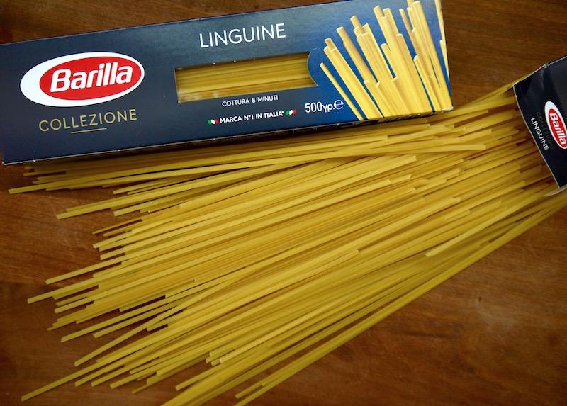 Linguine Barilla, λινγκουίνι