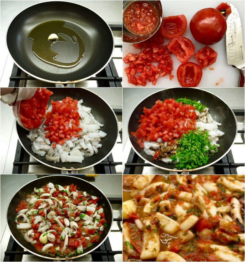 ζυμαρικά με μελάνι - μακαρόνια με σουπιές