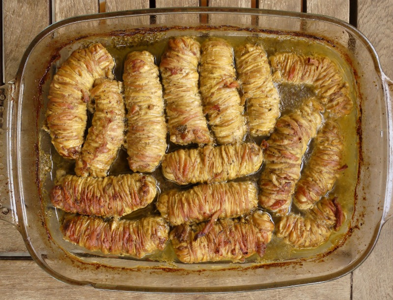 λεμονάτα γαρδουμπάκια, πικάντικα στο φούρνο
